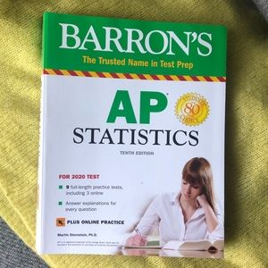 AP STAT Barron's 2020 Prep Book